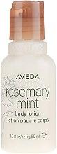 Parfumuri și produse cosmetice Loțiune de corp - Aveda Rosemary Mint Body Lotion (travel size)