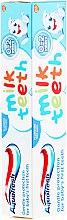 Set pentru îngrijirea dinților - Aquafresh Milk Teeth (t/paste 50 ml + t/brush) — Imagine N3