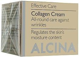 Parfumuri și produse cosmetice Cremă anti-îmbătrânire pentru față - Alcina E Collagen Creme