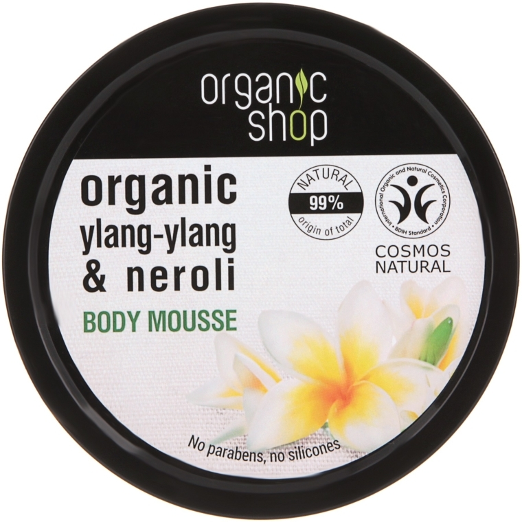Spumă de corp - Organic Shop Organic Ylang-Ylang & Neroli Body Mousse