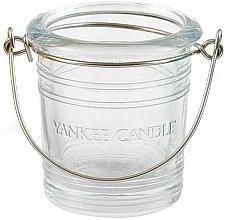 Parfumuri și produse cosmetice Suport pentru lumânări votive - Yankee Candle Bucket Holder Clear