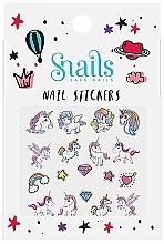 Parfumuri și produse cosmetice Abțibilduri pentru unghii - Snails Nail Stickers (1bucată)