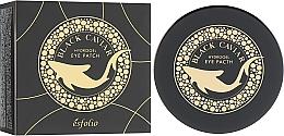 Parfumuri și produse cosmetice Patch-uri de hidrogel cu caviar negru sub ochi - Esfolio Black Caviar Hydrogel Eye Patch