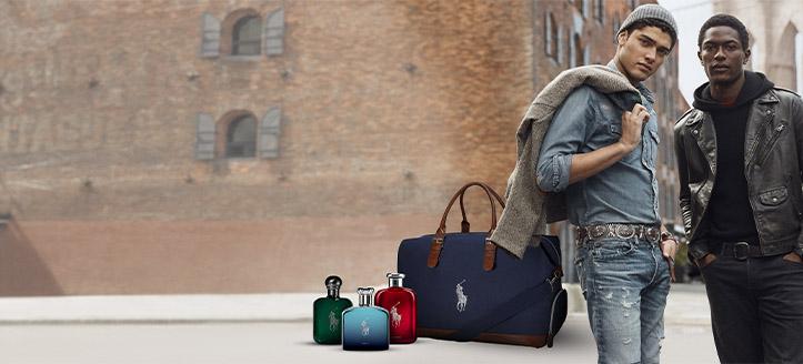 La achiziționarea produselor Ralph Lauren începând cu suma de 342 RON, primești cadou o geantă de marcă