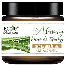 Parfumuri și produse cosmetice Cremă cu extract de aloe pentru față - Eco U Aloe Face Cream