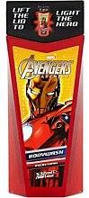 Parfumuri și produse cosmetice Gel de duș, pentru copii - Corsair Marvel Avengers Iron Man Body Wash