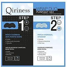 Parfumuri și produse cosmetice Patch-uri pentru nas - Qiriness Purifiant Nez 2-Step Nose Patches
