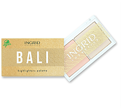 Parfumuri și produse cosmetice Paletă highlighter - Ingrid Cosmetics Bali Highlighters Palette