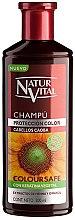 Parfumuri și produse cosmetice Șampon pentru menținerea culorii - Natur Vital Coloursafe Henna Colour Shampoo Mahogony Hair