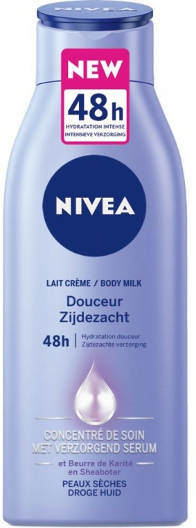 Lapte de corp - Nivea Douceur Zijdezacht Body Lotion