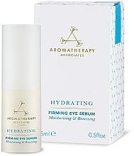 Parfumuri și produse cosmetice Ser hidratant pentru zona din jurul ochilor - Aromatherapy Associates Hydrating Firming Eye Serum