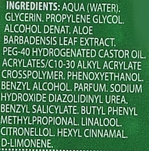 """Gel de duș """"Aloe"""" - IDC Institute Aloe Vera 99% Soothing Gel — Imagine N5"""