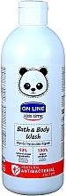 Parfumuri și produse cosmetice Spumă antibacteriană de baie - On Line Kids Time Bath & Body Wash Antibacterial