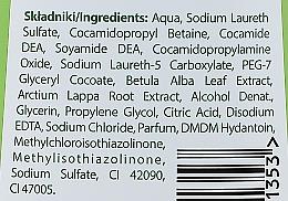 Șampon cu extract de mesteacăn și brusture - Joanna Naturia Hair Shampoo — Imagine N3