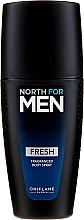 Parfumuri și produse cosmetice Spray parfumat pentru corp - Oriflame North for Men Fresh Fragranced Body Spray