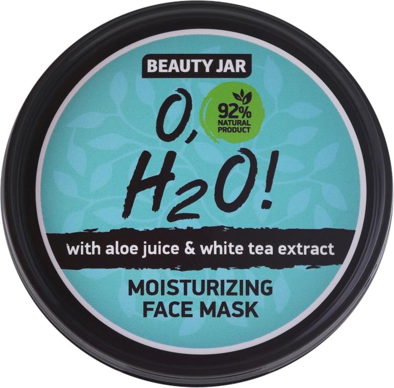 Mască hidratantă pentru față - Beauty Jar O,H2O Moisturizing Face Mask