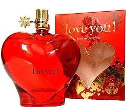 Parfumuri și produse cosmetice Real Time Love You! Red - Apă de parfum