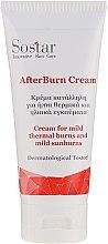 Parfumuri și produse cosmetice Cremă pentru arsuri solare ușoare și termice - Sostar After Burn Cream
