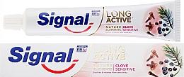 Parfumuri și produse cosmetice Pastă de dinți - Signal Long Active Nature Elements Clove Sensitive