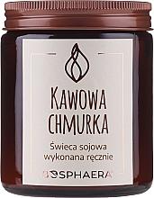 """Parfumuri și produse cosmetice Lumânare aromată din soia """"Coffee Cloud"""" - Bosphaera Coffee Cloud"""