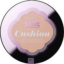 Parfumuri și produse cosmetice Fond de ten - L'Oreal Paris Nude Magique Cushion Foundation SPF29