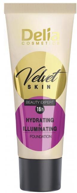 Fond de ten - Delia Mineral Velvet Skin