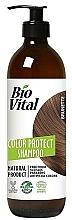 Parfumuri și produse cosmetice Șampon pentru păr șaten - DeBa Bio Vital Colour Revive Brunette