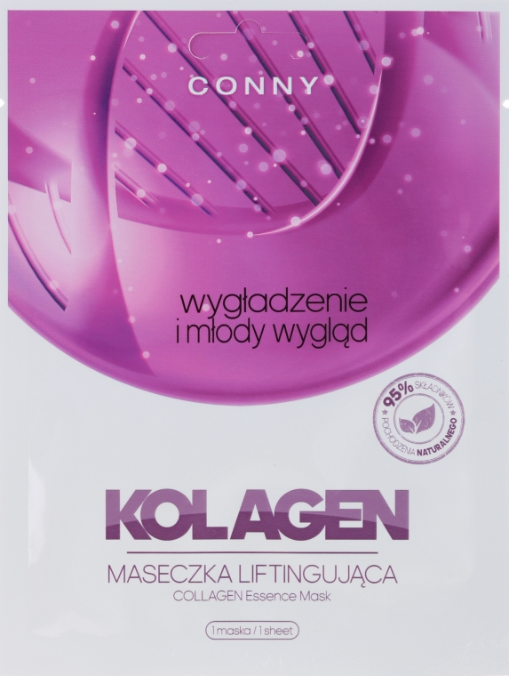 "Mască de față ""Colagen"" - Conny Collagen Essence Mask"