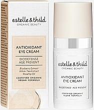 Parfumuri și produse cosmetice Cremă antioxidantă pentru zona ochilor - Estelle & Thild Biodefense Antioxidant Eye Cream