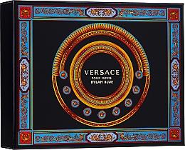 Parfumuri și produse cosmetice Versace Pour Femme Dylan Blue - Set (edp/50ml + b/l/50ml + s/g/50ml)