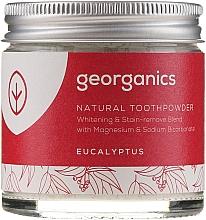 Parfumuri și produse cosmetice Praf natural pentru dinți - Georganics Eucalyptus Natural Toothpowder