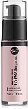 Parfumuri și produse cosmetice Bază de machiaj - Bell Hypo Allergenic Mat&Smooth Make-Up Base