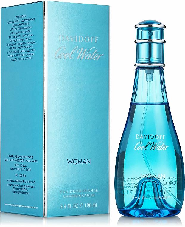 Davidoff Cool Water woman - Deodorant — Imagine N1