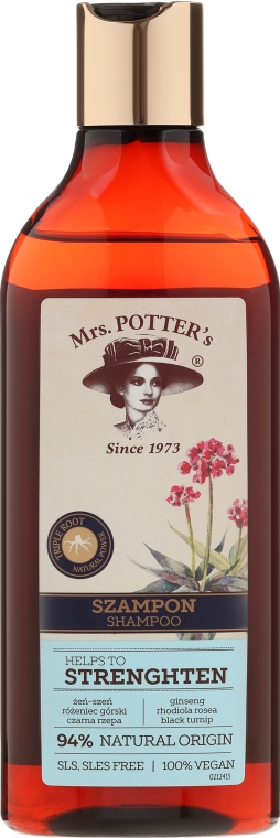 Șampon fortificant - Mrs. Potter's Helps To Strenghten Shampoo