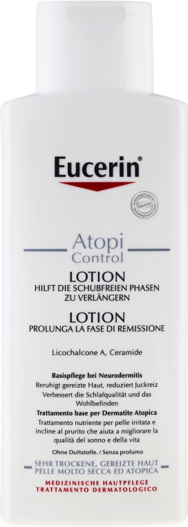 Loțiune de corp pentru dermatita atopică - Eucerin AtopiControl Body Care Lotion — Imagine N2