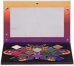 Parfumuri și produse cosmetice Paletă farduri de ochi - Moira Soul of Fire Shadow Palette
