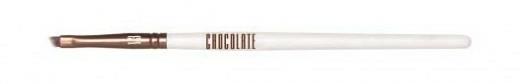 Pensulă pentru eyeliner - Novara Chocolate No. 13 Taklon Slim Cut Brush — Imagine N1