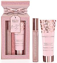 Parfumuri și produse cosmetice Baylis & Harding Jojoba, Vanilla & Almond Oil - Set (edp/12ml + h/cr/50ml)
