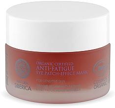 Parfumuri și produse cosmetice Mască- patch împotriva oboselii pentru zona ochilor - Natura Siberica Organic Certified Anti-Fatigue Eye Patch-Effect Mask