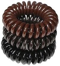 Parfumuri și produse cosmetice Elastic de păr, 3,5 cm - Ronney Professional S13 MAT