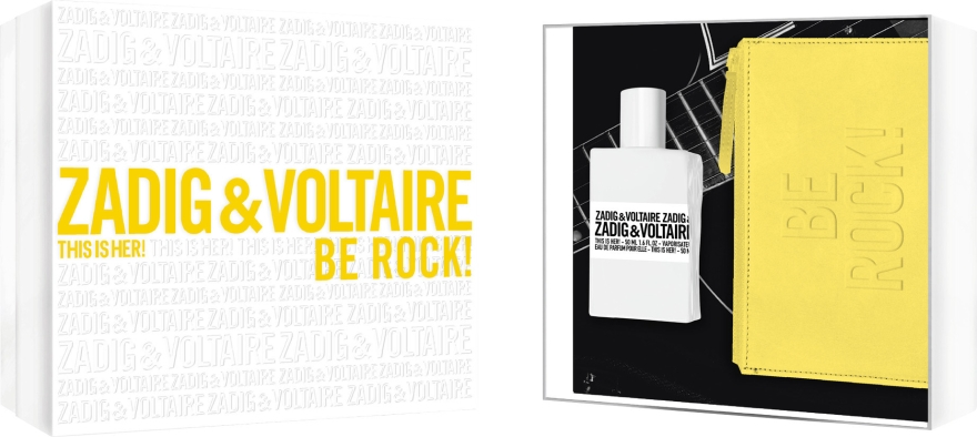 Zadig & Voltaire This is Her - Set (edp/50ml + pouch)  — Imagine N1