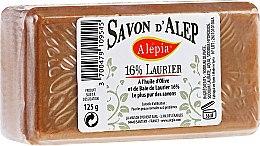Săpun cu ulei de dafin, 16% - Alepia Soap 16% Laurel — Imagine N1