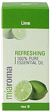 "Parfumuri și produse cosmetice Ulei esențial ""Lămâie"" - Holland & Barrett Miaroma Lime Pure Essential Oil"