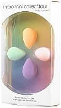 Parfumuri și produse cosmetice Set bureți de machiaj - Beautyblender Micro.Mini Correct.Four (4 buc.)