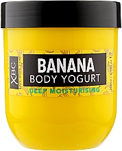 "Parfumuri și produse cosmetice Cremă-iaurt pentru corp ""Banană"" - Xpel Marketing Ltd Banana Body Yougurt"