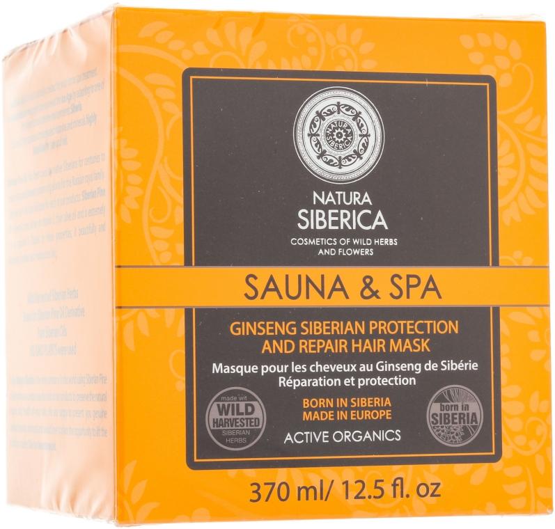 Mască pentru protecția și regenerarea părului - Natura Siberica Sauna & Spa