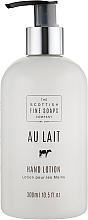 Parfumuri și produse cosmetice Loțiune pentru mâini - Scottish Fine Soaps Au Lait Hand Lotion