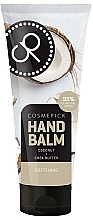 Parfumuri și produse cosmetice Balsam cu ulei de cocos și unt de shea pentru mâini - Cosmepick Hand Balm Coco&Shea Butter