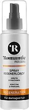 Parfumuri și produse cosmetice Spray regenerant pentru păr - Romantic Professional