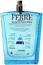 Parfumuri și produse cosmetice Gianfranco Ferre Acqua Azzurra - Apă de toaletă (tester fără capac)